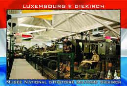 Carte Postale, REPRODUCTION, Diekirch (52), Luxembourg - Musées