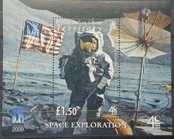 DE23 - British Indian Ocean Territory Minisheet MNH - 1969/2009 Space Exploration - British Indian Ocean Territory (BIOT)