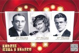 Poland 2018 - Mint MNH ** - Souvenir Sheet Cinema --- Block Kino , Pologne Polonia Polen --- Bl - Blocs & Feuillets