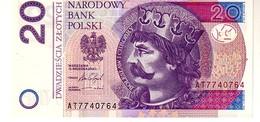 Poland P.184 20 Zlotych 2016 Unc - Polen
