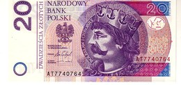 Poland P.184 20 Zlotych 2016 Unc - Polonia