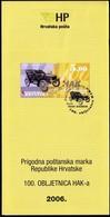 Croatia 2006 / 100th Ann. Of The Croatian Automobile Club - HAK / Prospectus, Leaflet, Brochure - Kroatien