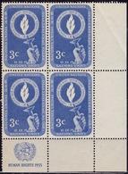 United Nations 1955, Hand Holding Torch, 3c, Sc#39, MNH - Ungebraucht