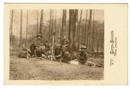 Belgian Boy-Scouts  - Une Cuisine - Collection M.D. - Scoutisme - 2 Scans - Scoutisme