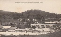 Foncine Le Bas - L'Usine Thouverez Et Le Taureau - Autres Communes