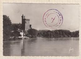 9AL389 AVIGNON  LE RHONE ET LA TOUR DE PHILIPPE LE BEL   2 SCANS - Avignon