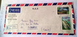 NOUVELLES HEBRIDES  -  N°366 Et N° 371 -29.09.1973- Oblit. PORT VILA - FDC