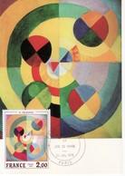1976 - FRANCIA MAXIMUM OPERE D'ARTE QUADRO VEDI++++ - Cartoline Maximum