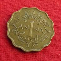 India 1 Anna 1945 (C)  Inde Indie - India