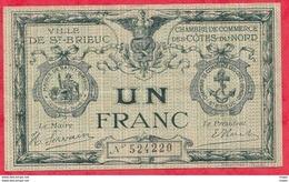 1 Franc Chambre De Commerce De St Brieux Dans L 'état (183) - Chambre De Commerce