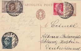Italy Postcard 1932 - Affrancature Meccaniche Rosse (EMA)