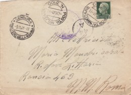 Italy Cover Censor 1941 - 1900-44 Vittorio Emanuele III