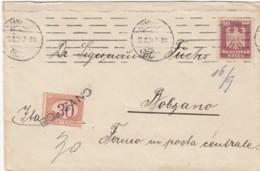 Italy Cover 1924 Porto - 1900-44 Vittorio Emanuele III