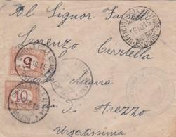 Italy Cover Censor 1915 - 1900-44 Vittorio Emanuele III