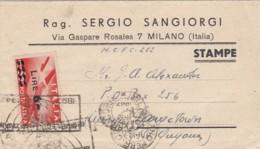 Italy Document 1947 - 1900-44 Vittorio Emanuele III