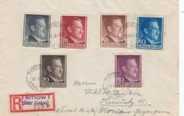 Deutsches Reich General Gouvernement R Brief 1941 - Besetzungen 1938-45