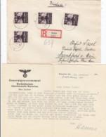 Deutsches Reich General Gouvernement R Brief 1940 - Besetzungen 1938-45