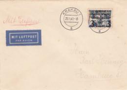 Deutsches Reich General Gouvernement Brief 1940 - Besetzungen 1938-45