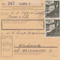 Deutsches Reich General Gouvernement Paketkarte 1941 - Besetzungen 1938-45