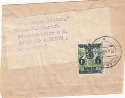 Deutsches Reich General Gouvernement Streifband 1940 - Besetzungen 1938-45