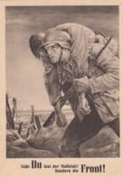 Deutsches Reich General Gouvernement Postkarte 1943 - Besetzungen 1938-45