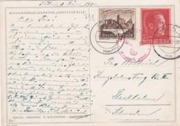 Deutsches Reich Postkarte 1940 - Deutschland