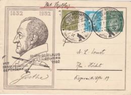 Deutsches Reich Postkarte 1932 Rhön-Segelflug - Deutschland