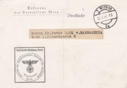 Deutsches Reich Postkarte 1942 - Deutschland
