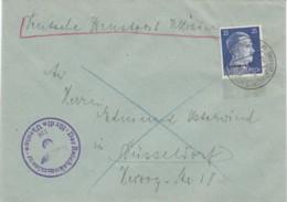 Deutsches Reich Ukraine Brief 1943 - Besetzungen 1938-45