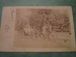 Tricycle à Moteur Avec Remorque Pour La Promenade - Motos