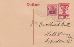 Deutsches Reich Postkarte 1919 Kriegsbeschadigde - Deutschland