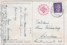 Deutsches Reich Propaganda Postkarte 1943 - Deutschland