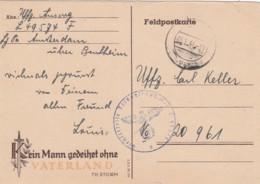 Deutsches Reich Propaganda Postkarte 1944 - Deutschland
