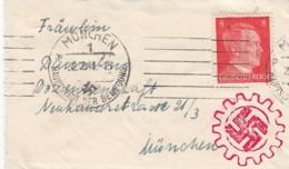 Deutsches Reich Brief Propaganda 1941 - Deutschland