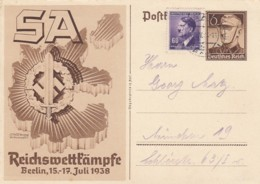 Deutsches Reich Postkarte P271 1938 - Deutschland