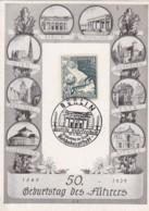 Deutsches Reich Postkarte Propaganda 1939 Geburtstag Des Fuhrers - Deutschland