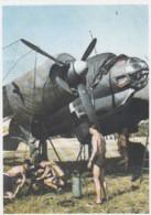 Deutsches Reich Postkarte Propaganda 1940 Junkers Stukas Und Lufttransporter - Deutschland