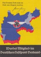 Deutsches Reich Gedenlblat Propaganda 1938 Pflieger - Deutschland