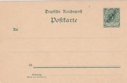 Deutsches Reich Kamarun Postkarte 1898 - Kolonie: Kamerun