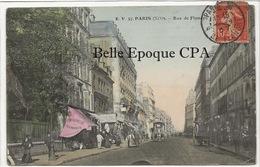 75 - PARIS 19 -- #57 -- Rue De Flandre +++ E. V. / EV +++ Vers Oran, ALGÉRIE, 1907 / Colorisée - Arrondissement: 19