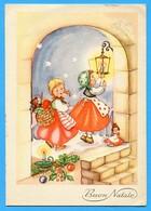 Natale Noel Weihnachten Christmas Enfants Teddy Bear - Bambini