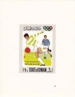 Oman Serie  De 7 Valores En Hojas - Verano 1968: México