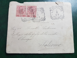 (17066) STORIA POSTALE ITALIA 1903 - Storia Postale