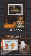 GUYANA 2050 FB-FC (blocs) (0) – Olympiade Korea 1988 + Barcelona 1992 - Guyane (1966-...)