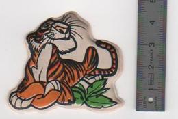Figurine Le Livre De La Jungle Walt Disney Productions Shere Khan En Mousse Année 80 Stenval - Disney
