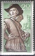 Sahara Español 1959 Michel 189 Neuf * Cote (2005) 0.20 Euro Peribanez - Sahara Espagnol
