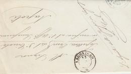 Lagonegro. 1871. Annullo Doppio Cerchio,  Su Franchigia Senza Testo - 1861-78 Victor Emmanuel II