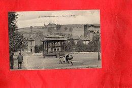 F1102 - LE CHAMBON FEUGEROLLES - 42 - Place De La Mairie - Le Chambon Feugerolles