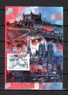 """"""" FRANCE / ROUMANIE : MILAN RASTISLAV STEFANIK """" Sur Carte Maximum De 2003 N° YT 3554  Parfait état. CM - Emissions Communes"""