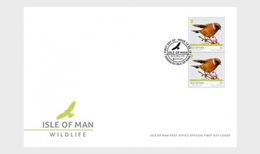 H01 Isle Of Man 2019 Isle Of Man Wildlife  Europa FDC - Isola Di Man